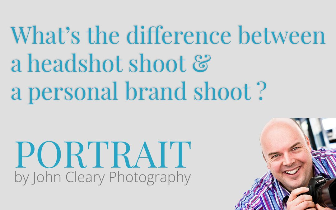 Personal brand shoots: What makes them different to headshot sessions?
