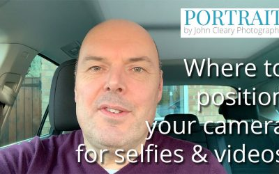 Selfie Tip: Reducing 'chinage' – camera position