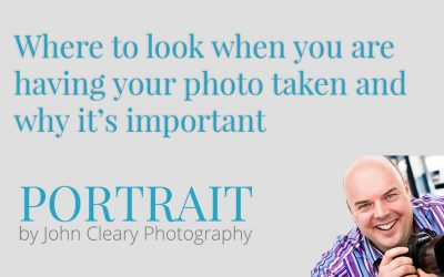 Where to look when you are having your photo taken and why it's important