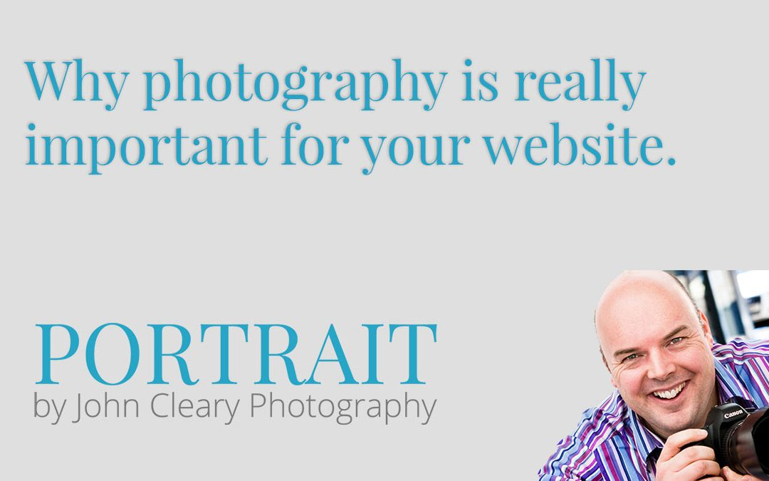 Why photography is really important for your website