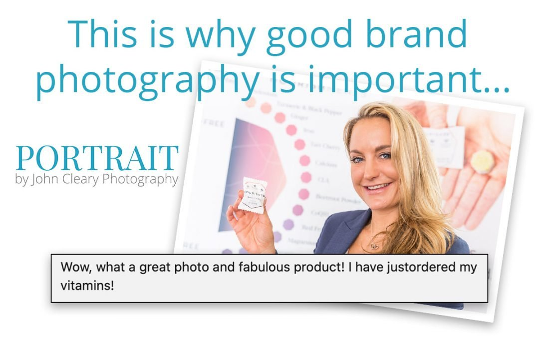 PROOF! Why good brand photography is important