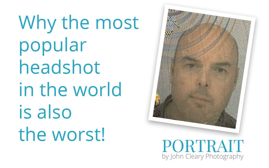The most popular headshot in the world is also the worst!