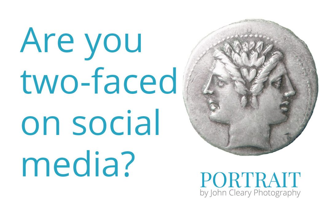 Are You Two-Faced on Social Media?