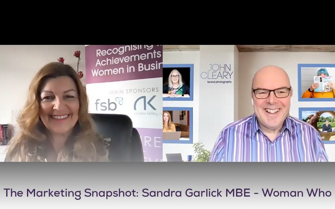 The Marketing Snapshot: 4 – Sandra Garlick – Woman Who founder