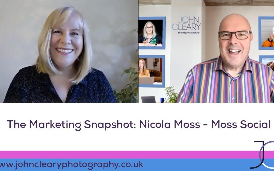 The Marketing Snapshot: 11 – Nicola Moss – Instagram